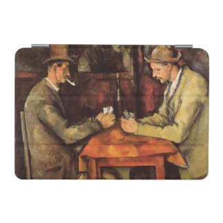 PAUL CEZANNE - The card players 1894 iPad Mini Cover