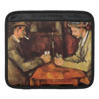 PAUL CEZANNE - The card players 1894 iPad Sleeve