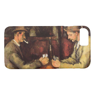 PAUL CEZANNE - The card players 1894 iPhone 8/7 Case