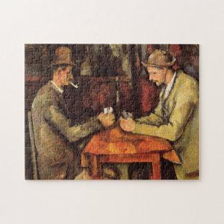 PAUL CEZANNE - The card players 1894 Jigsaw Puzzle