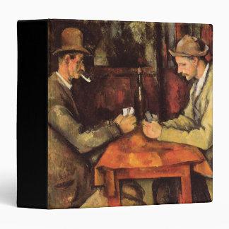 PAUL CEZANNE - The card players 1894 Vinyl Binder