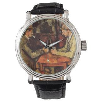 PAUL CEZANNE - The card players 1894 Watch