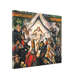 Paul Cezanne - The Eternal Feminine Canvas Print