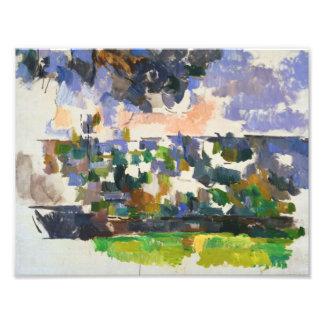 Paul Cezanne - The Garden at Les Lauves Art Photo