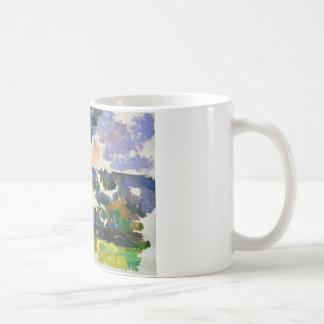 Paul Cezanne - The Garden at Les Lauves Coffee Mug