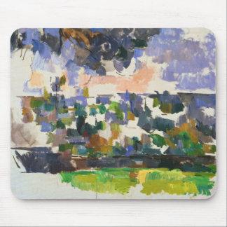 Paul Cezanne - The Garden at Les Lauves Mouse Pad
