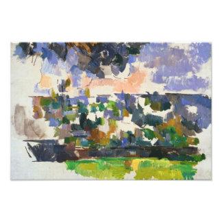 Paul Cezanne - The Garden at Les Lauves Photo Art
