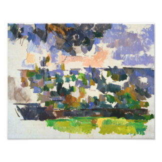 Paul Cezanne - The Garden at Les Lauves Photo Print