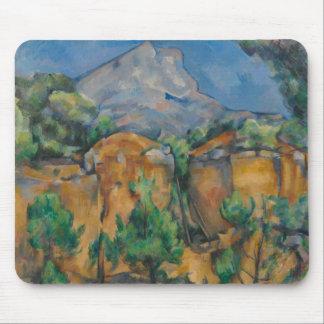 Paul Cezanne - The Mountain Sainte-Victoire Mouse Pad