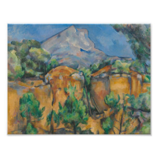 Paul Cezanne - The Mountain Sainte-Victoire Photographic Print