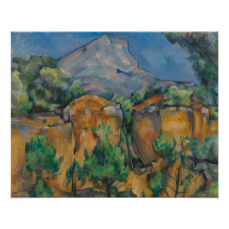Paul Cezanne - The Mountain Sainte-Victoire Poster