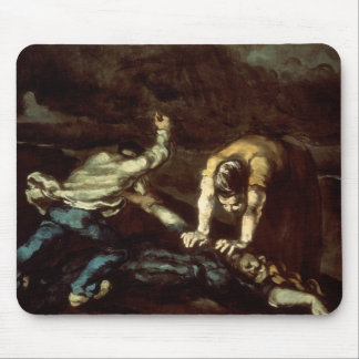 Paul Cezanne - The Murder Mouse Pad