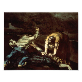 Paul Cezanne - The Murder Photo Art