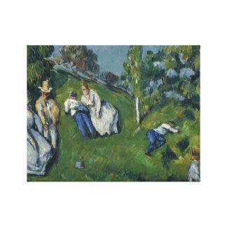 Paul Cezanne - The Pond Canvas Print