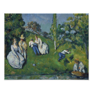 Paul Cezanne - The Pond Photograph