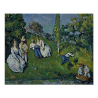 Paul Cezanne - The Pond Poster
