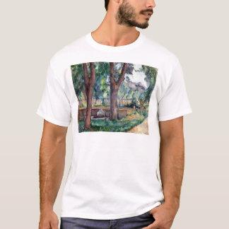 Paul Cezanne The Pool at the Jas de Bouffan T-Shirt