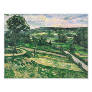 Paul Cezanne - The Tree by the Bend Art Photo