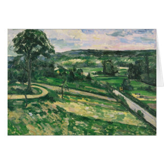 Paul Cezanne - The Tree by the Bend Card