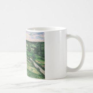 Paul Cezanne - The Tree by the Bend Coffee Mug
