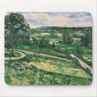 Paul Cezanne - The Tree by the Bend Mouse Pad