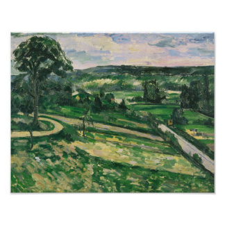 Paul Cezanne - The Tree by the Bend Poster
