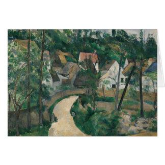 Paul Cezanne - Turn in the Road Card