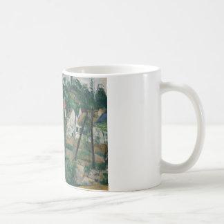 Paul Cezanne - Turn in the Road Coffee Mug