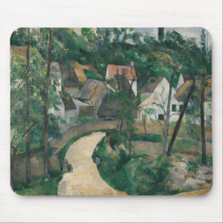 Paul Cezanne - Turn in the Road Mouse Pad
