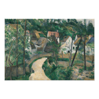 Paul Cezanne - Turn in the Road Photo