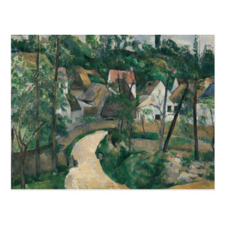 Paul Cezanne - Turn in the Road Postcard