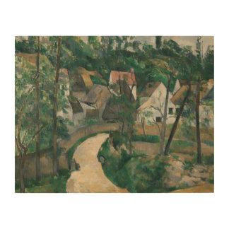 Paul Cezanne - Turn in the Road Wood Prints