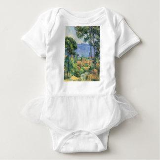 Paul Cezanne - View of L'Estaque and Chateaux d'If Baby Bodysuit