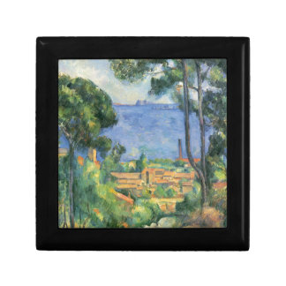 Paul Cezanne - View of L'Estaque and Chateaux d'If Gift Box