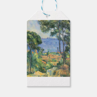 Paul Cezanne - View of L'Estaque and Chateaux d'If Gift Tags
