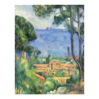 Paul Cezanne - View of L'Estaque and Chateaux d'If Letterhead