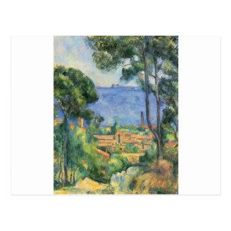 Paul Cezanne - View of L'Estaque and Chateaux d'If Postcard