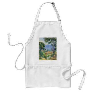 Paul Cezanne - View of L'Estaque and Chateaux d'If Standard Apron