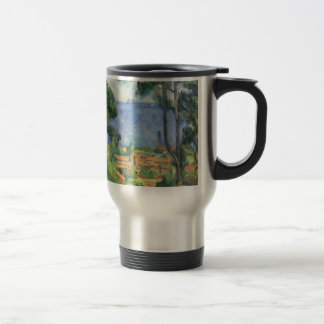 Paul Cezanne - View of L'Estaque and Chateaux d'If Travel Mug