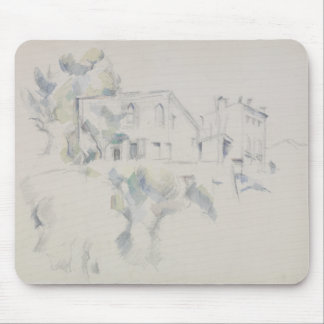 Paul Cezanne - View of the Chateau Noir Mouse Pad