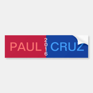 PAUL CRUZ 2016 Bumper Sticker