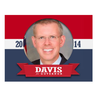PAUL DAVIS CAMPAIGN POST CARD