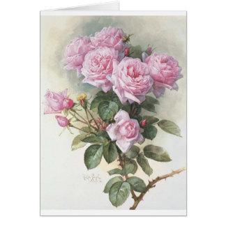 Paul_de_Longpré_-_Roses_and_Bumblebees,_1899 Card