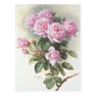 Paul_de_Longpré_-_Roses_and_Bumblebees,_1899 Postcard