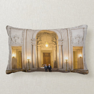 Paul + Don's Wedding 13 x 21 Lumbar Pillow