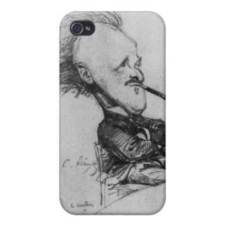 Paul Ferdinand Gachet (1862-1930) c.1887 (pencil o Case For iPhone 4