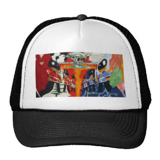 Paul Fullylove - Heart and Mind 300dpi 75cm x 40cm Trucker Hat