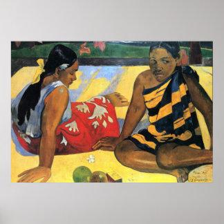 Paul Gauguin 19 Poster