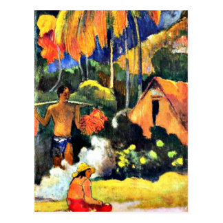 Paul Gauguin art: The Moment of Truth II Postcard