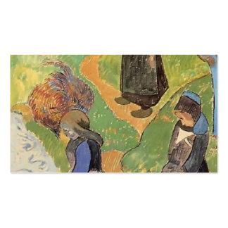 Paul Gauguin- en Bretagne Modèle De Carte De Visite